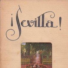 Libros antiguos: R. PEREZ OLIVARES. SEVILLA. GUÍA LITERARIA Y EMOCIONAL DE LA CIUDAD DE LA GRACIA. MADRID, 1929.. Lote 57674971