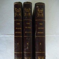 Libros antiguos: 'VIAJE DEL JOVEN ANACARSIS A LA GRECIA A MEDIADOS DEL SIGLO IV' J.J.BARTHELEMY 3 TOMOS 1852-3. Lote 58461941