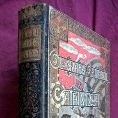 Libros antiguos: GEOGRAFÍA GENERAL DE CATALUNYA. PROVINCIA DE BARCELONA. CARRERAS CANDI. Lote 58546576