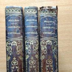 Libros antiguos: GEOGRAFÍA UNIVERSAL POR MALTE-BRUN. TOMOS I-II-III.. O. C.. Lote 58746133