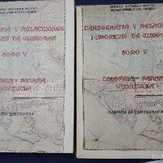 Libros antiguos: CARTOGRAFIA Y RELACCIONES HISTORICAS DE ULTRAMAR -COLOMBIA-PANAMA-VENEZUELA. Lote 58962255