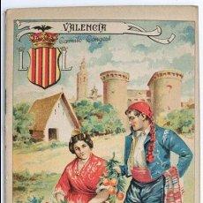 Libros antiguos: VALENCIA, GEOGRAFIA POPULAR ESPAÑOLA, ED. ANTONIO BASTINOS BARCELONA 1902. Lote 59898215
