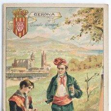 Libros antiguos: GERONA, GEOGRAFIA POPULAR ESPAÑOLA, ED. ANTONIO BASTINOS BARCELONA 1902 - GIRONA. Lote 59898523
