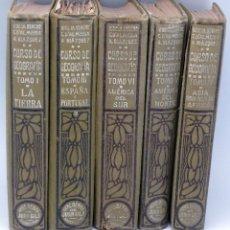 Libros antiguos: CURSO DE GEOGRAFÍA BLAZQUEZ ALMEIDA BLACHE ED JUAN GILI 1914 - 1919 5 TOMOS FALTA EL 2. Lote 61416691