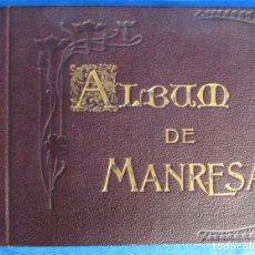 Libros antiguos: ÁLBUM DE MANRESA. IMPRENTA Y LIBRERÍA DE LUIS ROCA, S. MIGUEL, 11 Y 15, MANRESA, 1901.. Lote 62371736