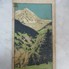 Libros antiguos: ITINERARIS AL XALET - REFUGI D´ULL DE TER -CENTRE EXCURSIONISTA DE CATALUNYA -1918 - MAPA, ETC. Lote 64024063
