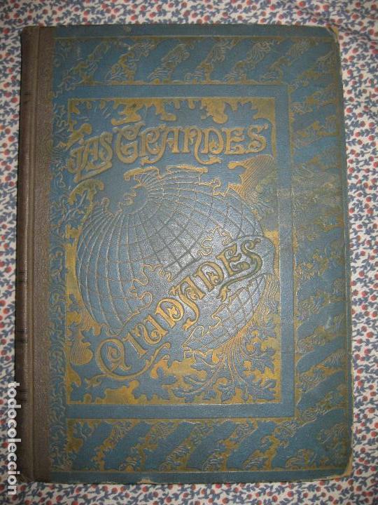 LAS GRANDES CIUDADES.ROMA-MADRID-LISBOA-ATENAS-TOKIO. PEDRO UMBERT. IMP. HENRICH 1900. (Libros Antiguos, Raros y Curiosos - Geografía y Viajes)