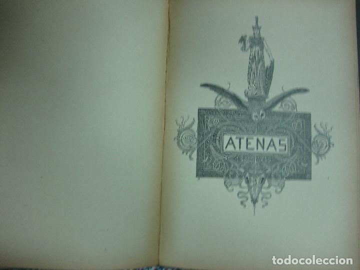 Libros antiguos: LAS GRANDES CIUDADES.ROMA-MADRID-LISBOA-ATENAS-TOKIO. PEDRO UMBERT. IMP. HENRICH 1900. - Foto 5 - 64562363