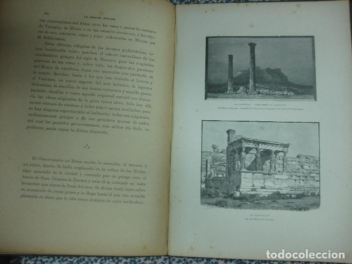 Libros antiguos: LAS GRANDES CIUDADES.ROMA-MADRID-LISBOA-ATENAS-TOKIO. PEDRO UMBERT. IMP. HENRICH 1900. - Foto 6 - 64562363