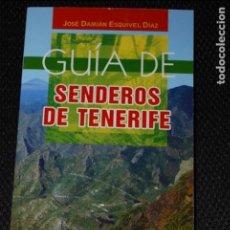 Libros antiguos: GUÍA DE SENDEROS DE TENERIFE. ANAGA. Lote 65434439