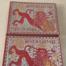 Libri antichi: PANORAMA NACIONAL - 2 TOMOS - AÑO 1896. Lote 66751466