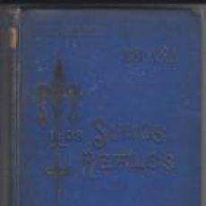 Libros antiguos: LOS SITIOS REALES ESPAÑA RÉSIDENCES ROYALES D'ESPAGNE GUIAS JORRETO 1891. Lote 67110825