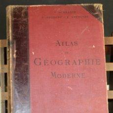 Libros antiguos: 8229 - ATLAS DE GÉOGRAPHIE MODERNE. VV. AA. EDIT. HACHETTE ET CIA. 1894.. Lote 68193921