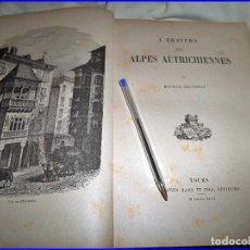 Libros antiguos: AÑO 1896: A TRAVÉS DE LOS AÑOS AUSTRIACOS.29,50 CM. VOLUMINOSO LIBRO ILUSTRADO... Lote 68503941