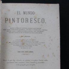 Libros antiguos: EL MUNDO PINTORESCO. HISTORIA Y DESCRIPCION DE LAS ANTILLAS. CUBA, PUERTO RICO, HAITÍ, LA JAMAICA.. Lote 68862257