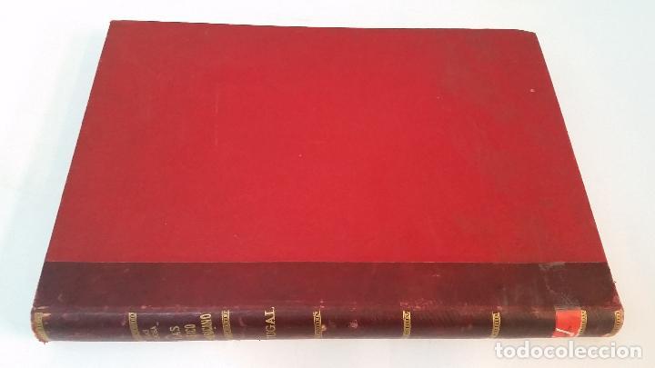 1903 - CHÍAS Y CARBÓ - ATLAS GEOGRÁFICO IBEROMERICANO: PORTUGAL (Libros Antiguos, Raros y Curiosos - Geografía y Viajes)
