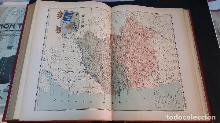 Libros antiguos: 1903 - CHÍAS Y CARBÓ - ATLAS GEOGRÁFICO IBEROMERICANO: PORTUGAL - Foto 4 - 69832469