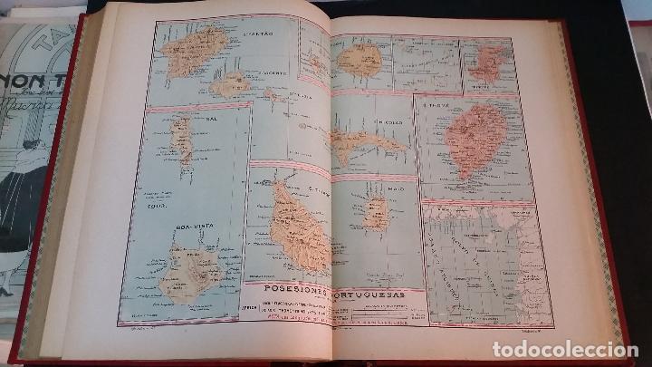 Libros antiguos: 1903 - CHÍAS Y CARBÓ - ATLAS GEOGRÁFICO IBEROMERICANO: PORTUGAL - Foto 6 - 69832469