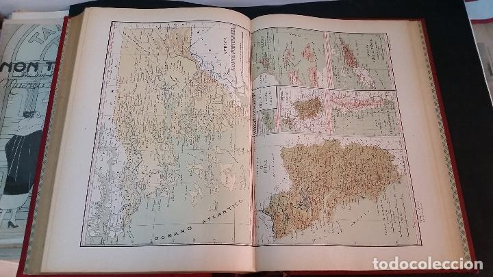 Libros antiguos: 1903 - CHÍAS Y CARBÓ - ATLAS GEOGRÁFICO IBEROMERICANO: PORTUGAL - Foto 7 - 69832469