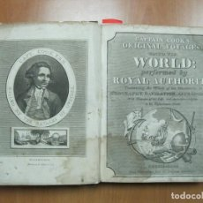 Libros antiguos: CAPTAIN COOK S ORIGINAL VOYAGES ROUND THE WORLD...1815. B. SMITH. FRONTISPICIO Y DIEZ GRABADOS.. Lote 70203049