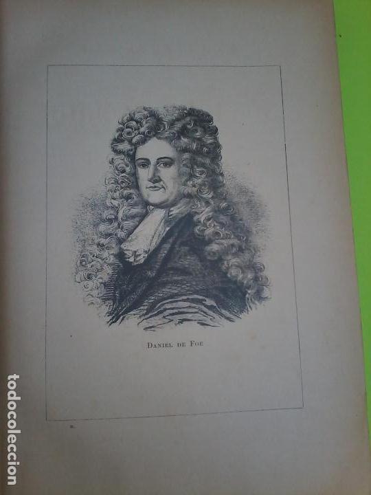 Libros antiguos: LAS AVENTURAS DE ROBINSON CRUSOE - DANIEL DE FOE - 1910 - - Foto 3 - 71398115