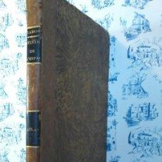 Libros antiguos: ATLAS DE L´ITINERAIRE DESCRIPTIF DE L´ESPAGNE PAR ALEXANDER DE LABORDE - 1809 - MAPA ESPAÑA - CARTE . Lote 73416815
