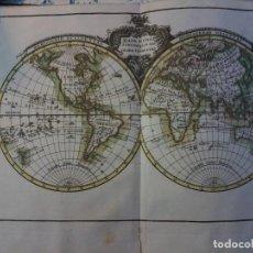 Libros antiguos: ATLAS ELEMENTAL MODERNO O COLECCION DE MAPAS PARA ENSEÑAR A LOS NIÑOS GEOGRAFIA - TOMAS LOPEZ - 1792. Lote 73420763