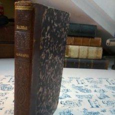 Libros antiguos: CURSO ELEMENTAL DE GEOGRAFIA - BERNARDO MONREAL Y ASCASO - 1862 - 2 LAMINAS Y 8 MAPAS COLOR - ATLAS. Lote 73574503