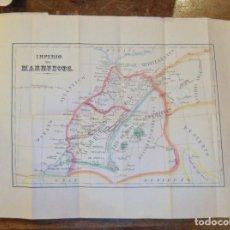 Libros antiguos: VIAJES POR MARRUECOS. FRANCISCO DE A. DE URRESTARAZU. MADRID 1873. FIRMADO Y DEDICADO POR EL AUTOR.. Lote 73670067