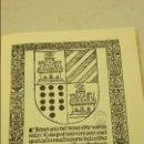 Libros antiguos: ITINERARIO DEL VENERABLE VARON MICER LUIS (FACSIMIL). Lote 73828551