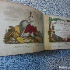 Libros antiguos: LA GEOGRAPHIE EN STAMPES OU MOEURS ET COSTUMES - 1819 - GRABADOS - LAMINAS - . Lote 74351175