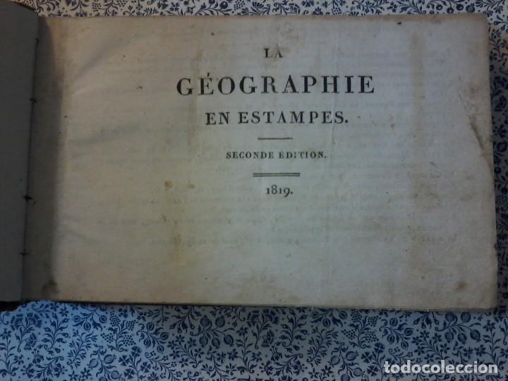 Libros antiguos: LA GEOGRAPHIE EN STAMPES OU MOEURS ET COSTUMES - 1819 - GRABADOS - LAMINAS - - Foto 6 - 74351175