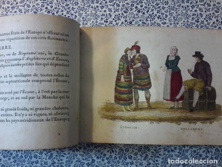 Libros antiguos: LA GEOGRAPHIE EN STAMPES OU MOEURS ET COSTUMES - 1819 - GRABADOS - LAMINAS - - Foto 9 - 74351175