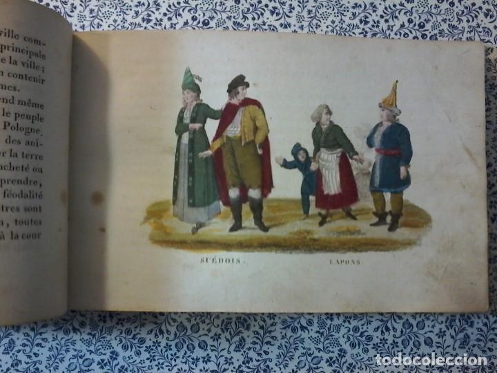 Libros antiguos: LA GEOGRAPHIE EN STAMPES OU MOEURS ET COSTUMES - 1819 - GRABADOS - LAMINAS - - Foto 10 - 74351175