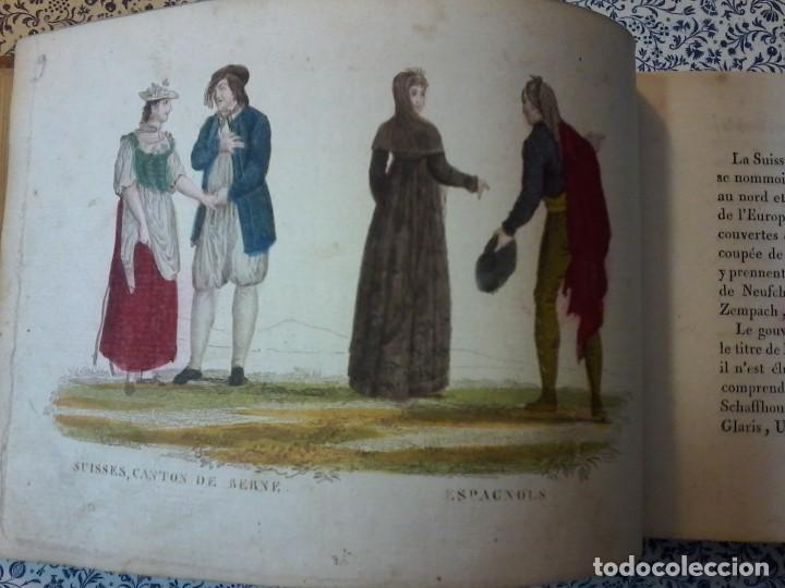 Libros antiguos: LA GEOGRAPHIE EN STAMPES OU MOEURS ET COSTUMES - 1819 - GRABADOS - LAMINAS - - Foto 11 - 74351175