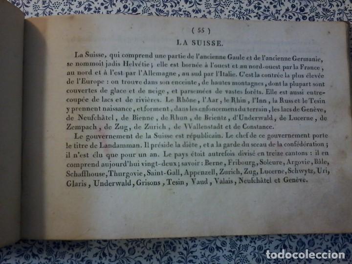 Libros antiguos: LA GEOGRAPHIE EN STAMPES OU MOEURS ET COSTUMES - 1819 - GRABADOS - LAMINAS - - Foto 12 - 74351175