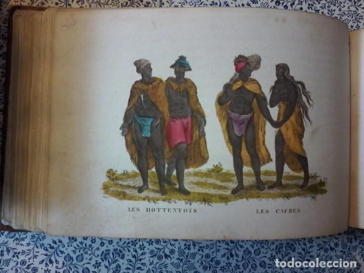 Libros antiguos: LA GEOGRAPHIE EN STAMPES OU MOEURS ET COSTUMES - 1819 - GRABADOS - LAMINAS - - Foto 16 - 74351175