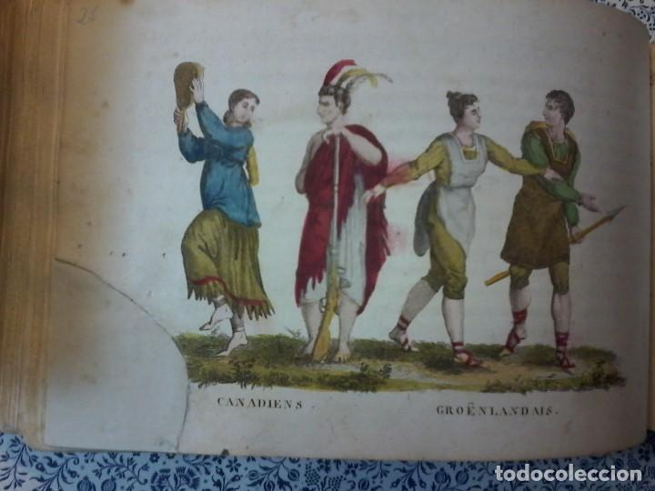 Libros antiguos: LA GEOGRAPHIE EN STAMPES OU MOEURS ET COSTUMES - 1819 - GRABADOS - LAMINAS - - Foto 17 - 74351175