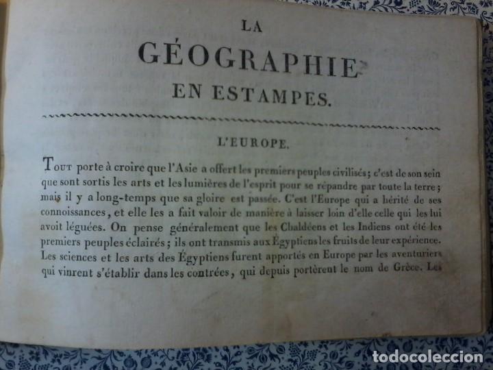 Libros antiguos: LA GEOGRAPHIE EN STAMPES OU MOEURS ET COSTUMES - 1819 - GRABADOS - LAMINAS - - Foto 20 - 74351175