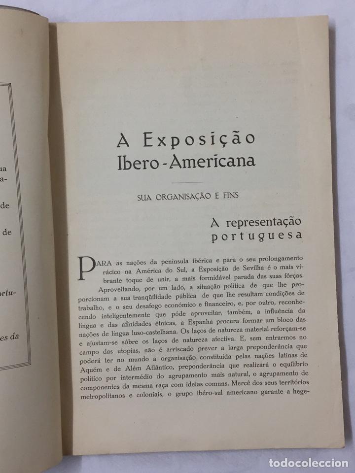 Libros antiguos: GUIA OFICIAL EXPOSICION PORTUGUESA SEVILLA 1929 PORTUGAL SEVILHA - Foto 6 - 75118434