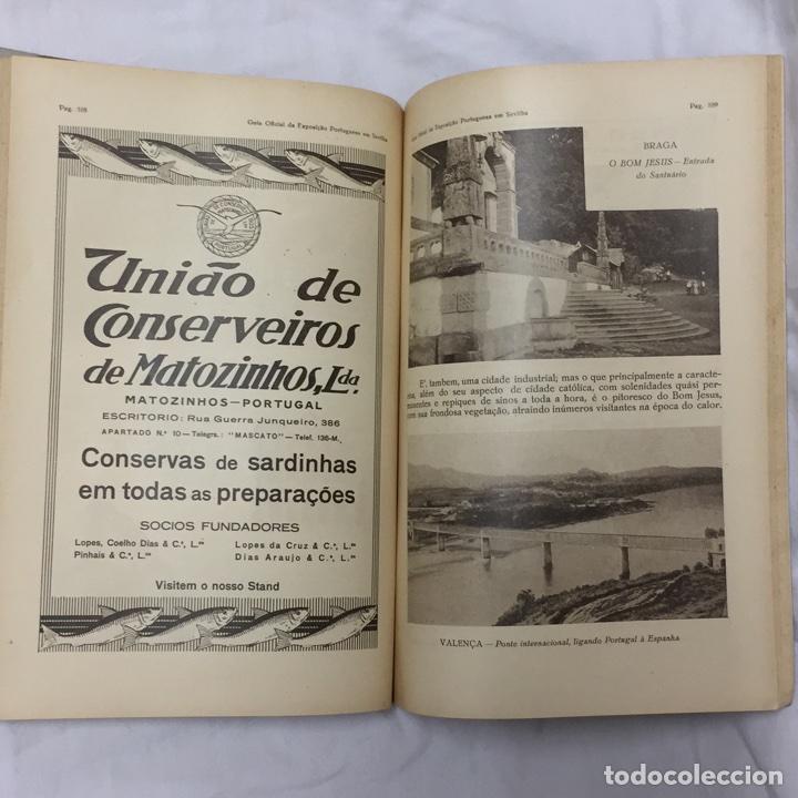 Libros antiguos: GUIA OFICIAL EXPOSICION PORTUGUESA SEVILLA 1929 PORTUGAL SEVILHA - Foto 7 - 75118434