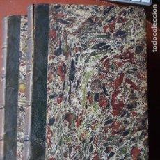 Libros antiguos: LAS CALLES DE BARCELONA - VICTOR BALAGUER - PRIMERA EDICIÓN 1865 - 2 VOLÚMENES. Lote 78364825