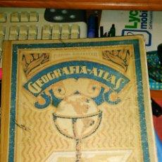 Libros antiguos: GEOGRAFIA-ATLAS GRADO SUPERIOR RAFAEL BALLESTER.1943. Lote 79050254