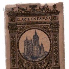 Libros antiguos: EL ARTE EN ESPAÑA. CATEDRAL DE LEON. Nº 15 EDICION THOMAS. 1,50 PESETAS. Lote 79522309