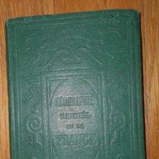 Libros antiguos: PETITE GEOGRAPHIE ILLUSTREE DE LA FRANCE, E.CORTAMBERT, PARIS, 1871. Lote 79996245