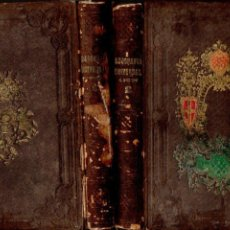 Libros antiguos: SOCIEDAD LITERARIA . LA GEOGRAFÍA UNIVERSAL (1857) DOS TOMOS, CON GRABADOS. Lote 80104055