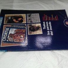 Libros antiguos: TODOS LOS PAISES DEL MUNDO-EL PERIODICO-1991-Nº17 VA-ZI. Lote 80654666