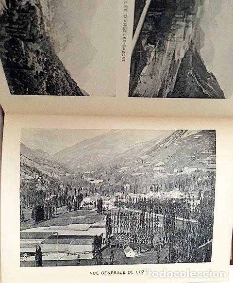 Libros antiguos: Souvenir des Pyrénées (c1890) Album cartoné decorado con 16 fototipias de los Pirineos s XIX - Foto 3 - 80977340