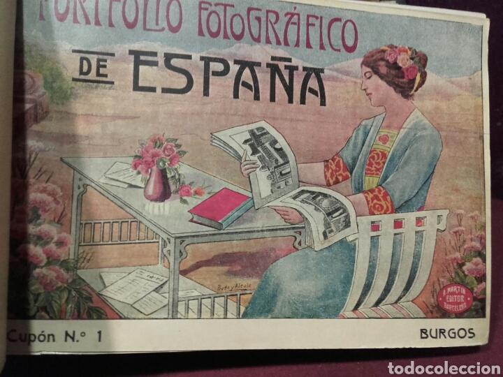 Libros antiguos: PORFOLIO FOTOGRAFICO DE ESPAÑA .TOMO 1-2-3 COMPLETO ALBERTO MARTIN BARCELONA - Foto 2 - 81023910