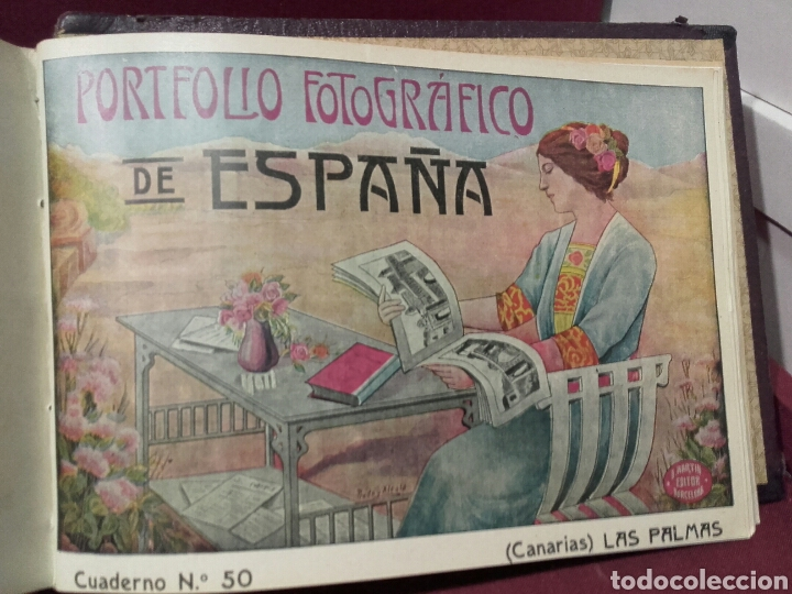 Libros antiguos: PORFOLIO FOTOGRAFICO DE ESPAÑA .TOMO 1-2-3 COMPLETO ALBERTO MARTIN BARCELONA - Foto 4 - 81023910